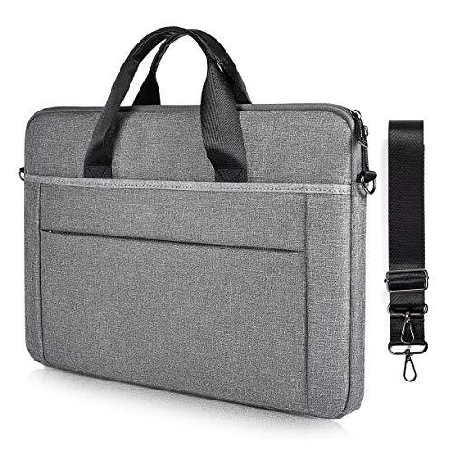 17.3 Inch Laptop Case for Men Women, Laptop Shoulder Bag for Lenovo IdeaPad L340 330, Acer Aspire 7/ Predator Helios 17.3, HP Envy 17/Pavilion 17,Asus Vivobook, MSI GF65 Case(Space Grey)