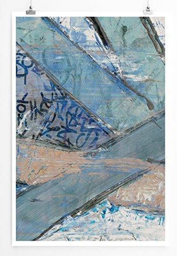 Survival - modernes abstraktes Bild Sinus Art - Bilder, Poster und Kunstdrucke
