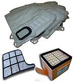 <span class='highlight'>Mister</span> <span class='highlight'>vac</span> A901 6 x Fleece <span class='highlight'>Vac</span>uum Bag Hepafilter Motor Protection Filter Set for Vorwerk Kobold 135, 136