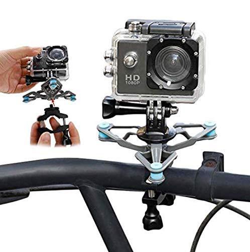 Taoric Fahrradständer Fahrradlenker Halterung Fahrrad Kamera Ständer Vibrationsdämpfer Set Für Gopro Hero8 7 6 5 4 / DJI OSMO Action