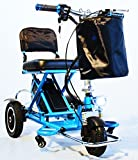 Blue, Triaxe Sport Foldable Scooter (18 Inch Seat Add On)