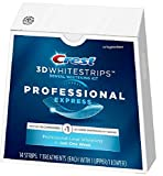 Crest 3D Whitestrips Professional Express Teeth Whitening Kit, 7 Treatments, 7Count