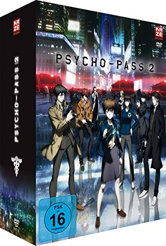Psycho-Pass - Staffel 2 - Vol.1 - [DVD] mit Sammelschuber [Limited Edition]