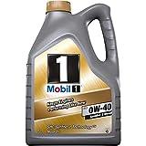 Mobil 1 153678 Motorenöl FS 0W40 Synthetic, Gold, 5 L