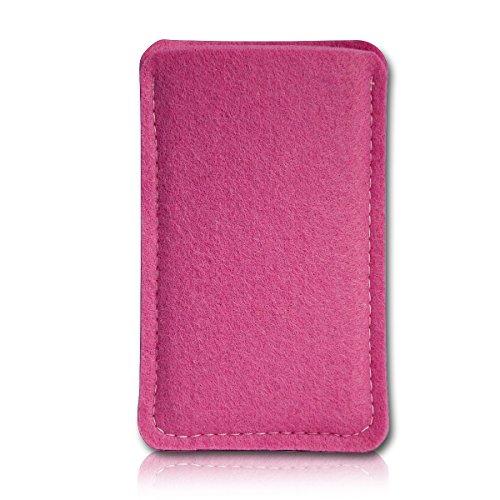 sw-mobile-shop Filz Style Lenovo Tablet A7-40 - 7 Zoll Filz Tablet Tasche Hülle Etui Einschubtasche passgenau für Lenovo Tablet A7-40 - 7 Zoll - Farbe hellpink