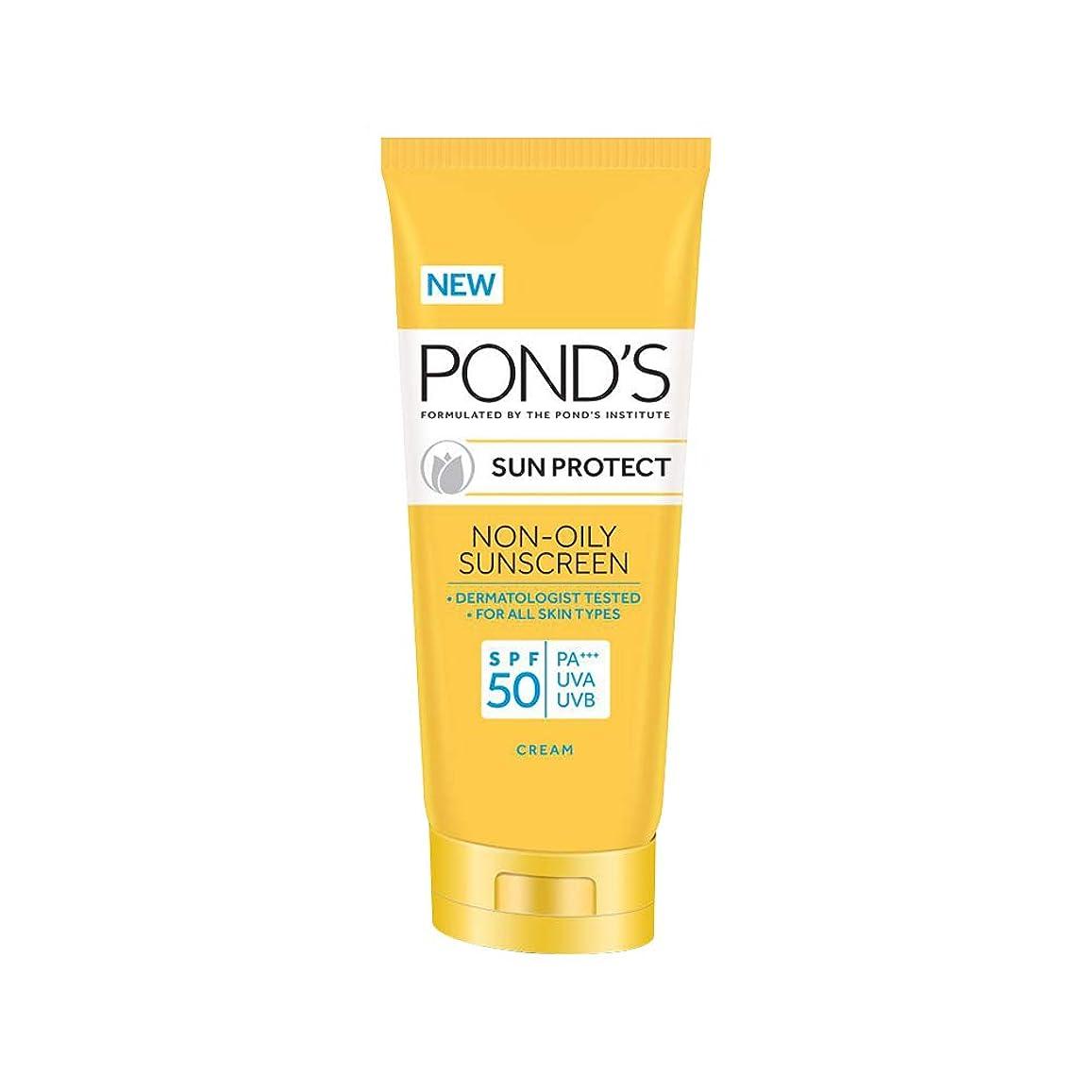 酔う植木全体にPOND'S SPF 50 Sun Protect Non-Oily Sunscreen, 80 g