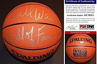 Bill Walton Signed - Autographed Basketball - Spalding Indoor/Outdoor Model Ball - Boston Celtics - Portland Trail Blazers - UCLA Bruins - PSA/DNA Certificate of Authenticity (COA)
