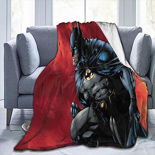 Elliot Dorothy Batman the Watcher Fleecedecke in Doppelgröße, seidig weiche Plüschdecke für Büro, verbessert den Schlaf, 152,4 x 203,2 cm
