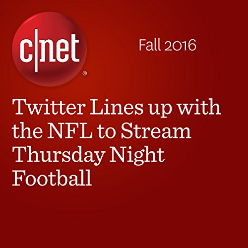Twitter Lines up with the NFL to Stream Thursday Night Football audiobook cover art