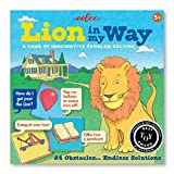eeBoo Lion in My Way Problem Solving Obstacle Board Game for Kids