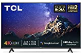 TCL 139 cm (55 inches) 4K Ultra HD Certified Android Smart LED TV 55P615 (Black) (2020 Model) | With Dolby Audio