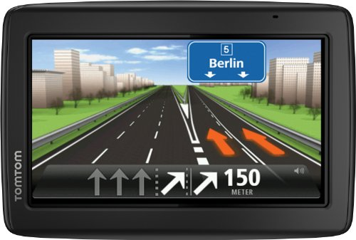 "TomTom Start 25 M Europe 45 Traffic - GPS para coches de 5 "" (mapas de Europa 45 países), negro- version importada"