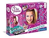 Clementoni- Miss France-Le Miroir Coffret de Maquillage pour Filles-Version française, 6 Ans et Plus, 52502, Multicolore
