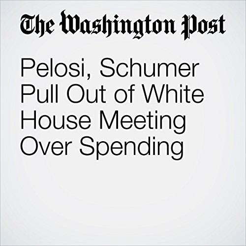 Pelosi, Schumer Pull Out of White House Meeting Over Spending copertina