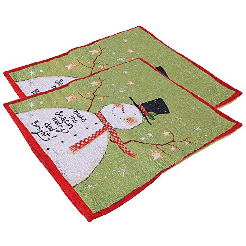 Funda para silla navideña, tela, 50 x 60 cm, duradera, duradera, reutilizable, reutilizable, para comedor