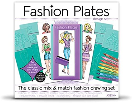 Fashion Plates - Fashion Drawing Set by Kahootz