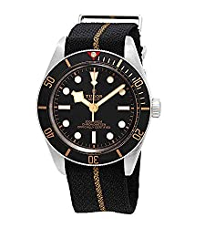 best luxury watch under 40mm - Tudor Black Bay Fifty-Eight Automatic Black Dial Men's Watch smaller than 40mm case size