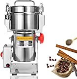 NEWTRY 700g Electric Dry Grain Grinder Stainless Steel High-Speed Food Mill Herb Grinder Pulverizer for Spice, Grain, Herbs Chinese Medicinal Materials Spice Flavoring