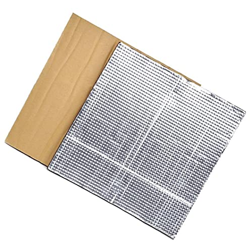 NIDONE Plataforma Caliente Cama de Aislamiento térmico semillero Bloque de Aislamiento Estera de la Espuma 3D Impresora térmica con calefacción Cama de Plata Aislamiento de algodón 2pcs