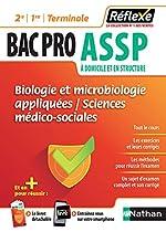 Bac pro ASSP - Biologie et microbiologie appliquées - Sciences médico-sociales - Guide Reflexe - 1re/2nd/Tle - Bac 2020 et 2021 d'Élisabeth Baumeier