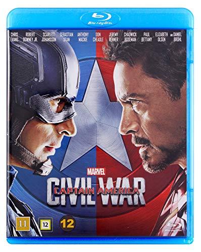 The First Avenger: Civil War [Blu-Ray] [Region Free] (Deutsche Sprache. Deutsche Untertitel)