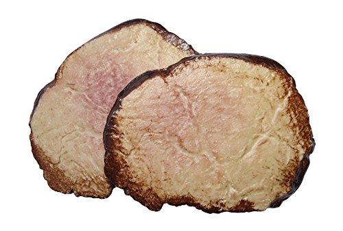ERRO 2 Roastbeef Scheiben Attrappen aus Kunststoff - 09305, sehr leichte und Harte Lebensmittelattrappe hohl, Fleisch Nachbildung, Requisite, Theaterdeko, Bühnendeko