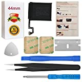 for 44mm Watch Series 4 Battery Replacement (GPS Version + LTE Cellular Version) A1976 A2059 with Repair Tool Set + Back Cover Adhesive + Installation Instruction