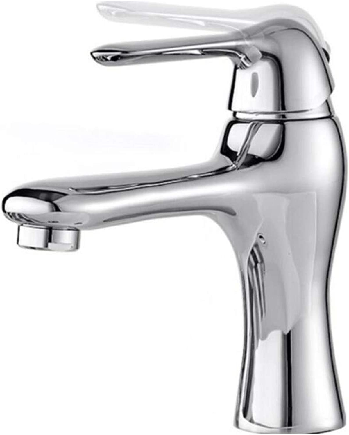 Faucet Waste Mono Spoutface Basin Faucet Copper Hot and Cold Water Washbasin Sink Nozzle Washbasin