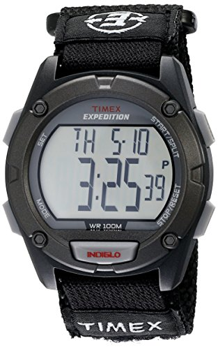 Timex Men's T49949 Expedition Digital CAT Black Fast Wrap Watch