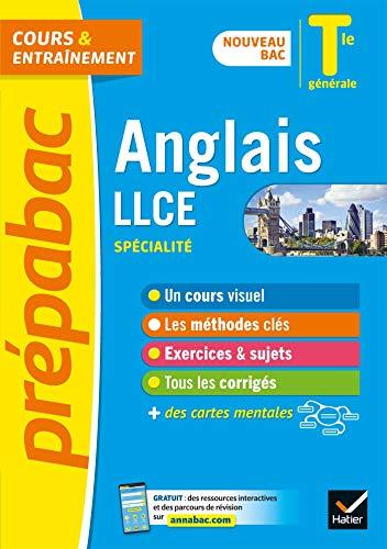 Prépabac Anglais LLCE Tle générale (spécialité) - Bac 2022: nouveau programme de Terminale