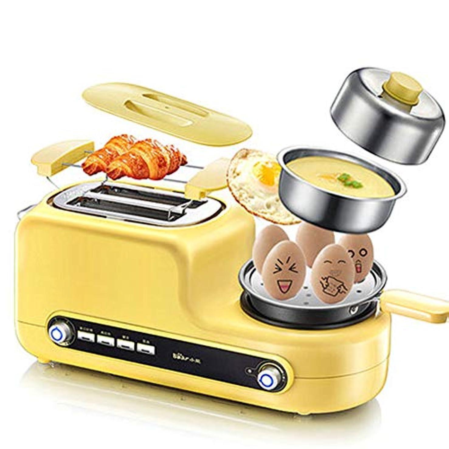 Egg Boilers Egg Cooker Steamed Egg Omelette Toaster Fried Roast Dual-use Household Breakfast Soil Driver Automatic Toast Artifact