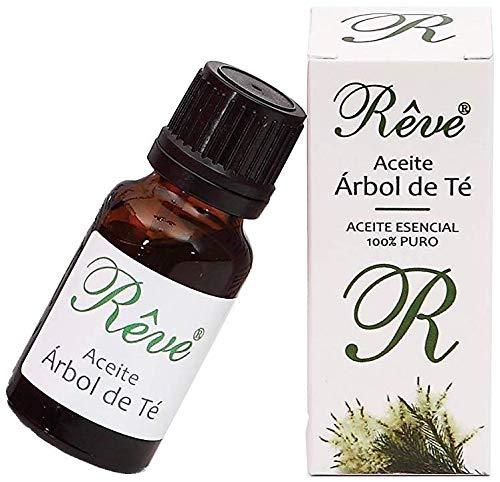 REVE Aceite de Árbol de Te Puro 100% Natural - Orgánico - 17 ml - Cosmética de Calidad