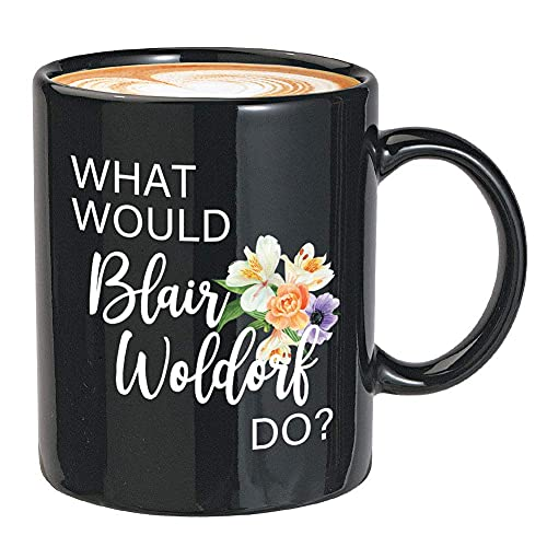N\A Serie de TV Taza de café ¿Qué haría Blair Waldorf? Drama Adolescente Estadounidense Serie de televisión Serena Cita...