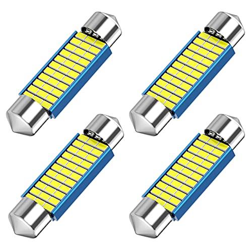 578 LED Festoon Bulb, 42mm 41mm 1.65 Inch Festoon DE3425 DE3423 211-2 LED, 12V 33SMD White Light...