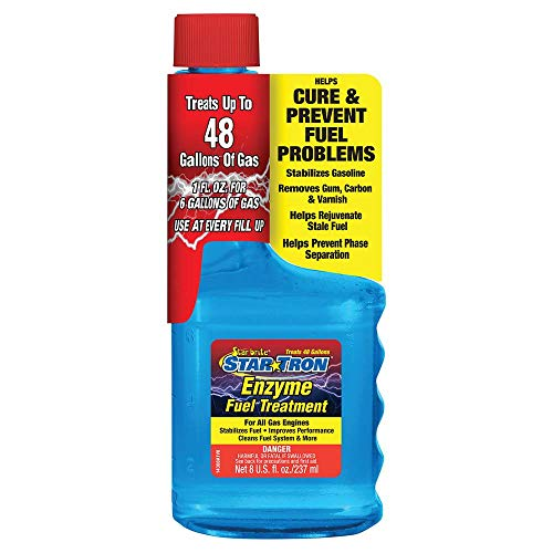 Star Tron Enzyme Fuel Treatment - Regular Gas Formula 8 oz - Treats 48 Gallons, Model Number: 14308