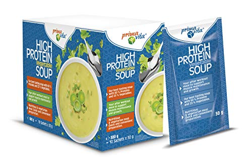Primavita - Gemüsesuppe mit hohem Proteingehalt, 30g (10er-Packung)