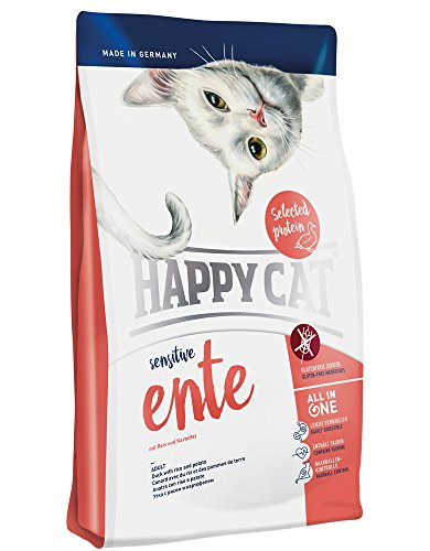 Happy Cat Ente, 1er Pack (1 x 1.4 kg)