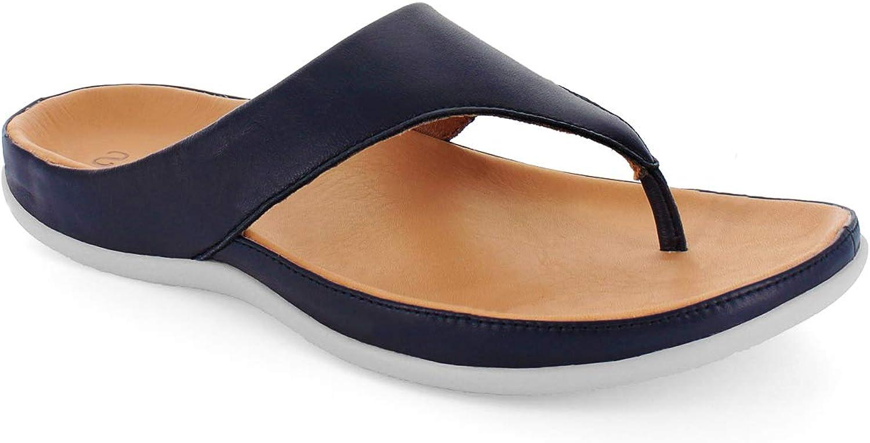 Strive Footwear Maui_schwarz, Damen Zehentrenner, Blau - Navy Navy Navy - Größe  37 EU  37579c
