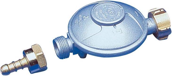 Norme Dipra 11546 D/étendeur gaz /à s/écurit/é Butane Sicherheits-Gasdruckminderer grau