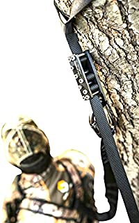 Treestand Emergency Descender System. Hunting Safety Harness Adapter. Wingman Tree Stand Safety Harness Device for Hunting & Bow Hunting Harness.