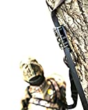 Best Hunting Fall Arrest System. Hunting Safety Harness Adapter. Wingman Tree Stand Safety Harness Device for Hunting & Bow Hunting Harness. (Black Out)