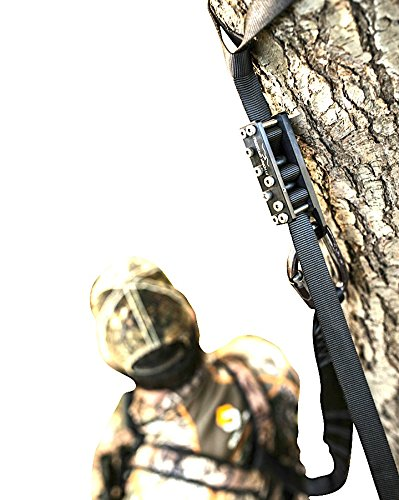 Review Best Hunting Fall Arrest System. Hunting Safety Harness Adapter. Wingman Tree Stand Safety Harness Device for Hunting & Bow Hunting Harness. (Stainless Pro Series)