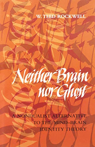 Neither Brain nor Ghost: A Nondualist Alternative to the Mind-Brain Identity Theory (A Bradford Book)