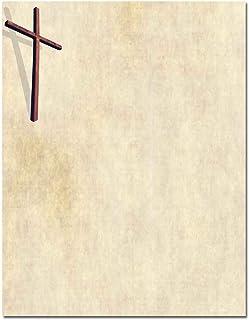 Wooden Cross Letterhead Laser & Inkjet Printer Paper, 100 pack