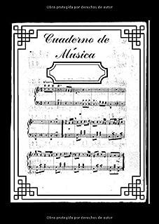 Cuaderno de Música: Libreta para Notación Musical, 11 Pentagramas por Página, 100 Páginas A4 (Spanish Edition)
