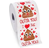 Valentine's Gifts for Her Him by Aliza | Large Funny Gag Toilet...