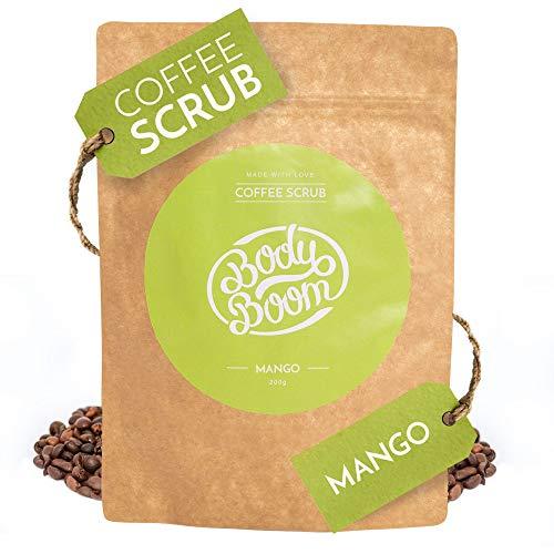 Body Boom Mangue Coffee Exfoliant