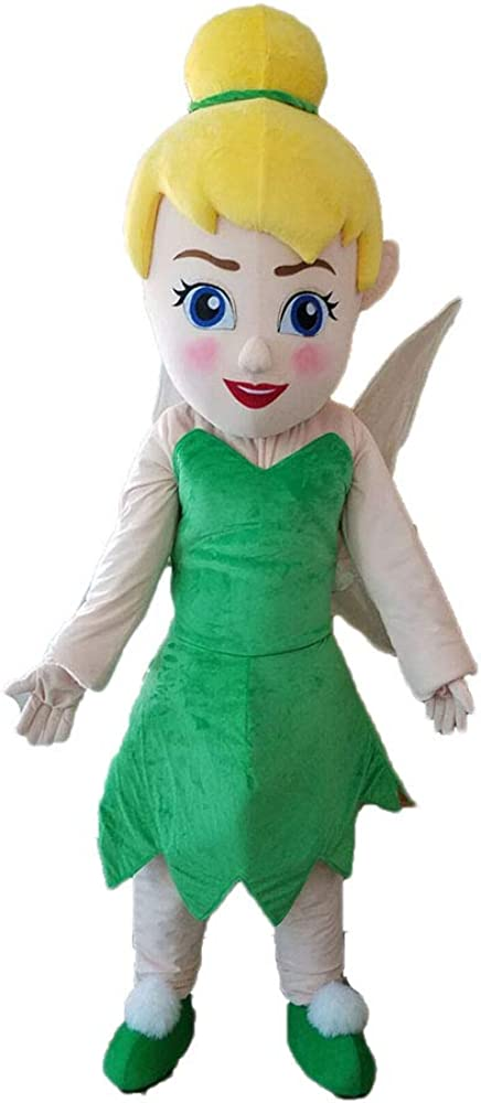 Save money Happy Fairy Girl Costume with Green F Tinker Quality inspection Dress Adult
