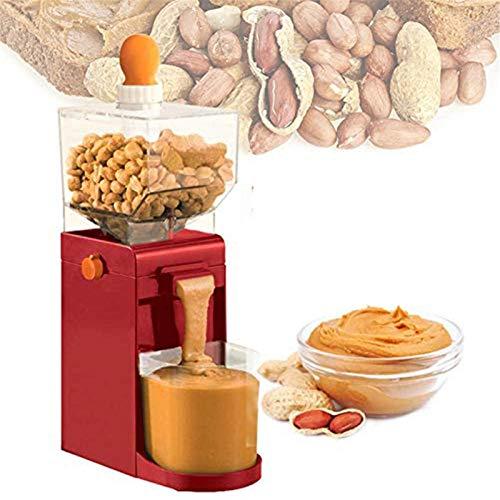 Machine électrique de fabricant de beurre d'arachide, machine de moulin de broyeurs de grain pour l'usage à la maison de broyage sec ou humide facile à utiliser, pour les noisettes de cajou, 500ML