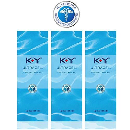 K-Y UltraGel Personal Lubricant, 1.5 oz.(pack of 3)